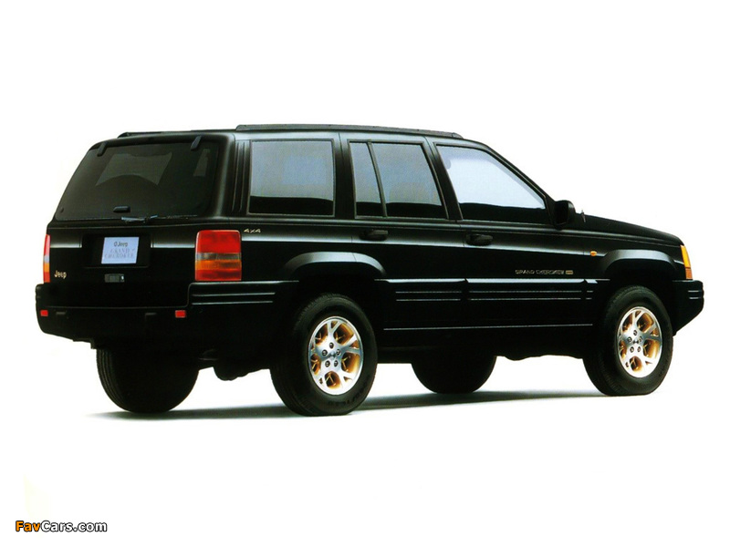 Jeep Grand Cherokee Limited JP-spec (ZJ) 1996–98 images (800 x 600)