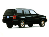 Jeep Grand Cherokee Limited JP-spec (ZJ) 1996–98 images
