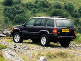 Jeep Grand Cherokee Limited UK-spec (ZJ) 1996–98 images