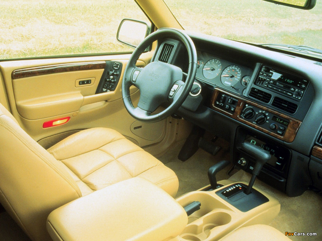 Jeep Grand Cherokee Limited (ZJ) 1996–98 wallpapers (1024 x 768)