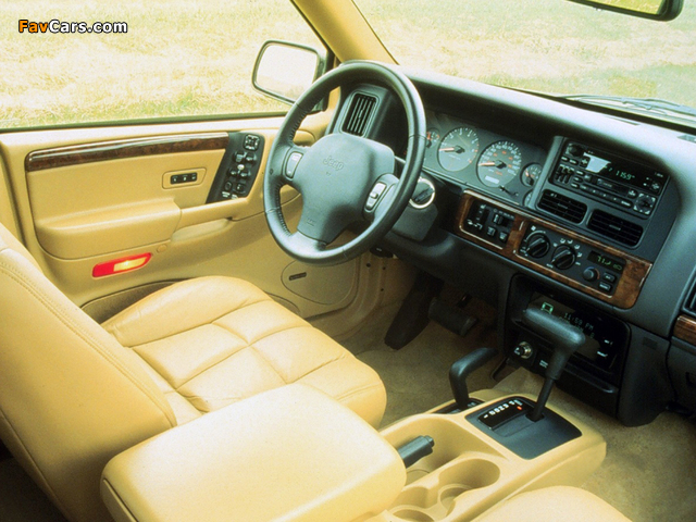 Jeep Grand Cherokee Limited (ZJ) 1996–98 wallpapers (640 x 480)