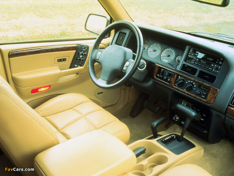 Jeep Grand Cherokee Limited (ZJ) 1996–98 wallpapers (800 x 600)
