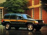 Jeep Grand Cherokee Limited JP-spec (ZJ) 1996–98 wallpapers