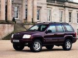 Jeep Grand Cherokee UK-spec (WJ) 1998–2003 images