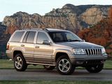 Jeep Grand Cherokee Overland (WJ) 2002–04 wallpapers
