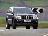 Jeep Grand Cherokee 5.7 Limited UK-spec (WK) 2005–10 images
