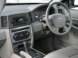 Jeep Grand Cherokee CRD Limited UK-spec (WK) 2005–07 photos
