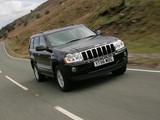 Jeep Grand Cherokee 5.7 Limited UK-spec (WK) 2005–10 photos