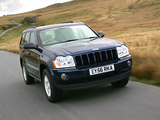 Jeep Grand Cherokee CRD Limited UK-spec (WK) 2005–07 pictures