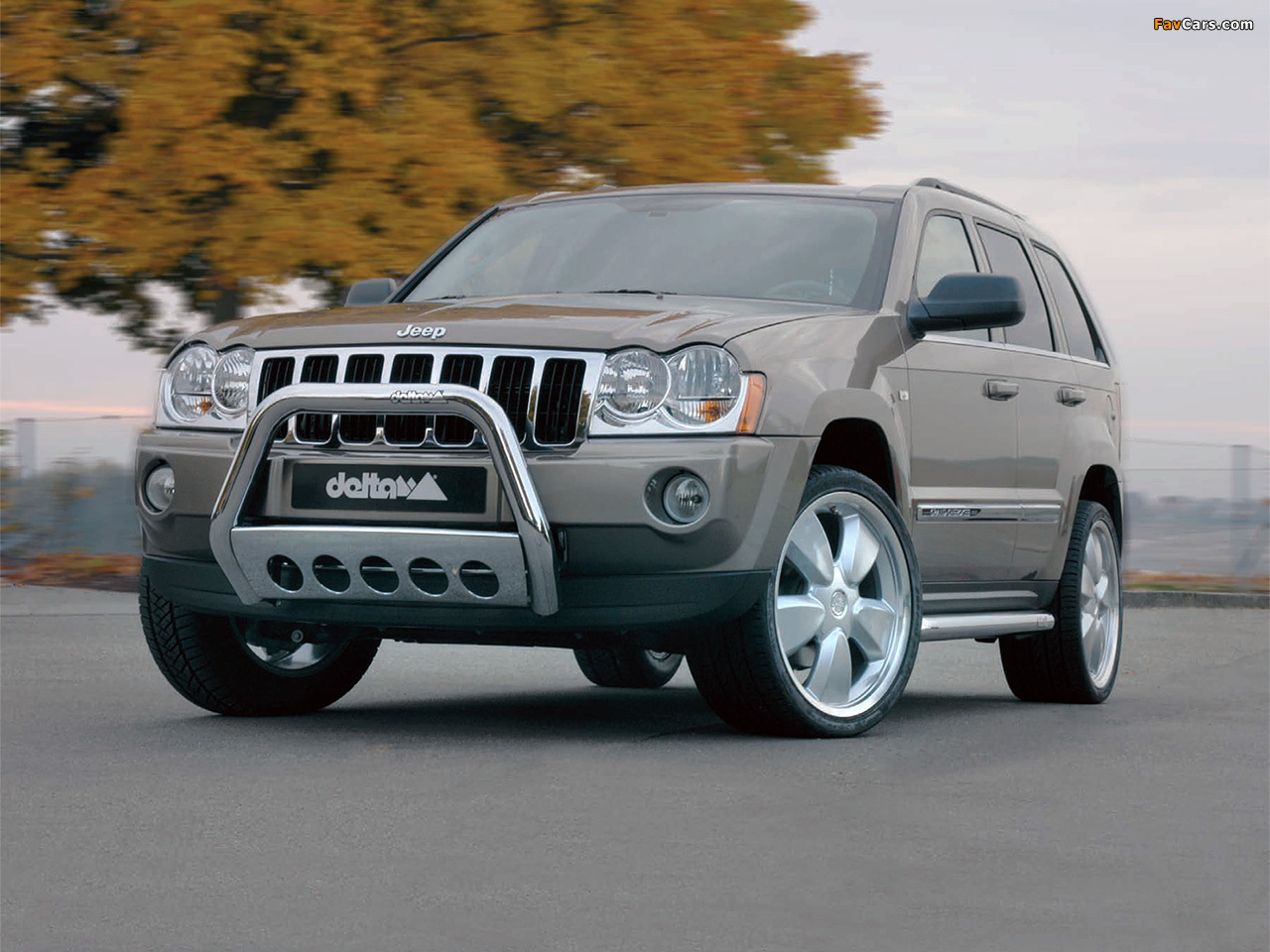 delta tuning jeep grand cherokee (wk) 2005–10 wallpapers