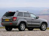 Jeep Grand Cherokee Overland UK-spec (WK) 2008–10 images