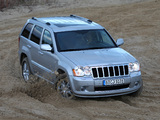 Jeep Grand Cherokee CRD Overland (WK) 2008–10 wallpapers