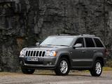 Jeep Grand Cherokee Overland UK-spec (WK) 2008–10 wallpapers