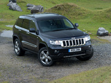 Jeep Grand Cherokee UK-spec (WK2) 2011 wallpapers