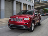 Jeep Grand Cherokee Summit (WK2) 2013 images