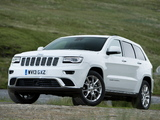 Jeep Grand Cherokee Summit UK-spec (WK2) 2013 images