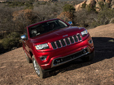 Jeep Grand Cherokee Overland (WK2) 2013 images