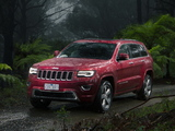 Jeep Grand Cherokee Overland AU-spec (WK2) 2013 images