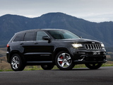 Jeep Grand Cherokee SRT AU-spec (WK2) 2013 images