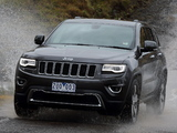 Jeep Grand Cherokee Limited AU-spec (WK2) 2013 pictures