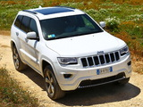 Jeep Grand Cherokee Overland EU-spec (WK2) 2013 wallpapers