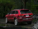 Jeep Grand Cherokee Overland AU-spec (WK2) 2013 wallpapers