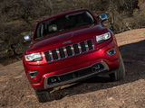 Jeep Grand Cherokee Overland (WK2) 2013 wallpapers