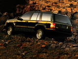Jeep Grand Cherokee Limited (ZJ) 1993–96 images