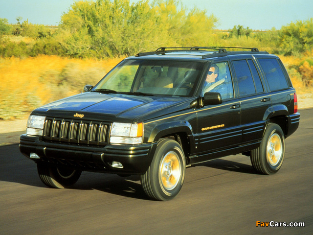 Jeep Grand Cherokee Limited (ZJ) 1996–98 pictures (640 x 480)