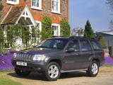 Jeep Grand Cherokee Overland UK-spec (WJ) 2001–03 pictures