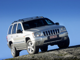 Jeep Grand Cherokee Overland (WJ) 2002–04 pictures