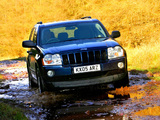 Jeep Grand Cherokee CRD Limited UK-spec (WK) 2005–07 images