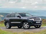 Jeep Grand Cherokee UK-spec (WK2) 2011 pictures