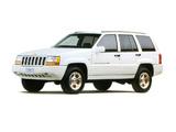 Photos of Jeep Grand Cherokee Limited JP-spec (ZJ) 1996–98