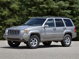 Photos of Jeep Grand Cherokee 5.9 Limited (ZJ) 1998