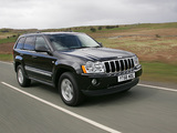 Photos of Jeep Grand Cherokee 5.7 Limited UK-spec (WK) 2005–10