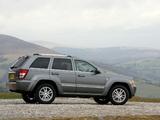 Photos of Jeep Grand Cherokee Overland UK-spec (WK) 2008–10