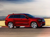 Photos of Jeep Grand Cherokee SRT (WK2) 2013
