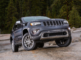 Photos of Jeep Grand Cherokee Limited (WK2) 2013
