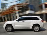 Photos of Jeep Grand Cherokee Overland EU-spec (WK2) 2013
