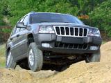 Photos of Jeep Grand Cherokee Laredo (WJ) 1998–2004