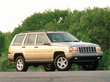 Pictures of Jeep Grand Cherokee 5.9 Limited UK-spec (ZJ) 1998