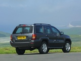 Pictures of Jeep Grand Cherokee Overland UK-spec (WJ) 2003–04