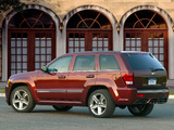 Pictures of Jeep Grand Cherokee SRT8 (WK) 2006–10