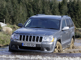 Pictures of Jeep Grand Cherokee Overland UK-spec (WK) 2008–10