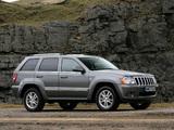 Pictures of Jeep Grand Cherokee Overland UK-spec (WK) 2008–10
