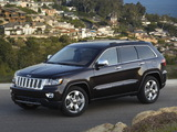 Pictures of Jeep Grand Cherokee Overland Summit (WK2) 2011–13