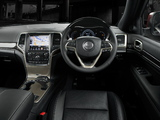 Pictures of Jeep Grand Cherokee Overland AU-spec (WK2) 2013