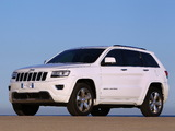 Pictures of Jeep Grand Cherokee Overland EU-spec (WK2) 2013
