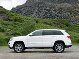 Pictures of Jeep Grand Cherokee Summit UK-spec (WK2) 2013
